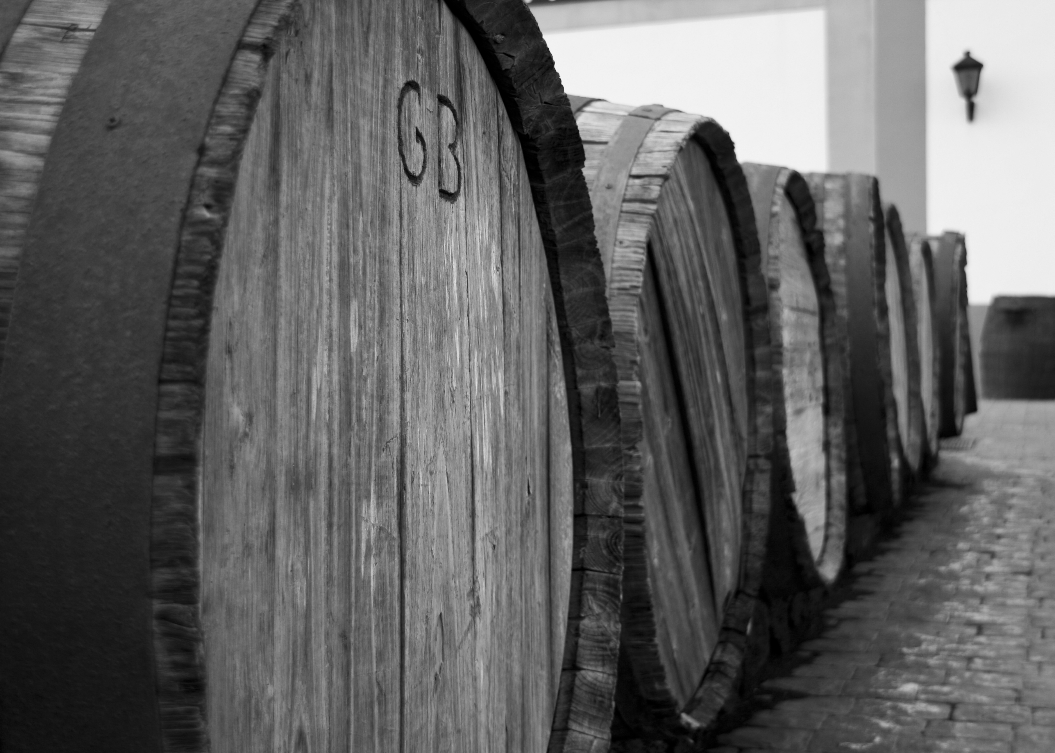 Wine_barrels_outside_vineyard_on_Lanzarote_(3228614079)